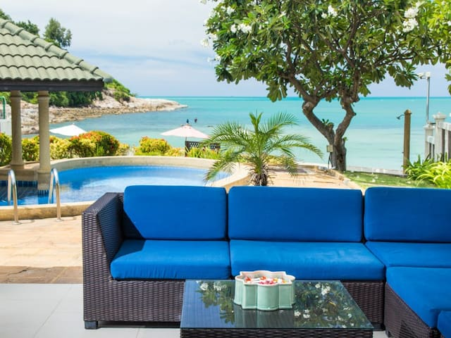 Beach Rose 5 Bed room Idyllic pool & beach villa