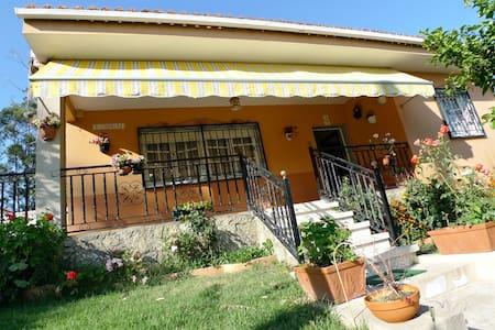 Casa con terraza y barbacoa junto a la playa - Vilanova de Arousa