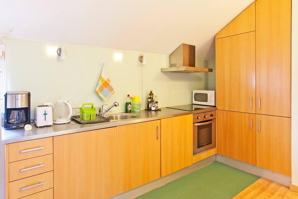 kitchenette, Küche