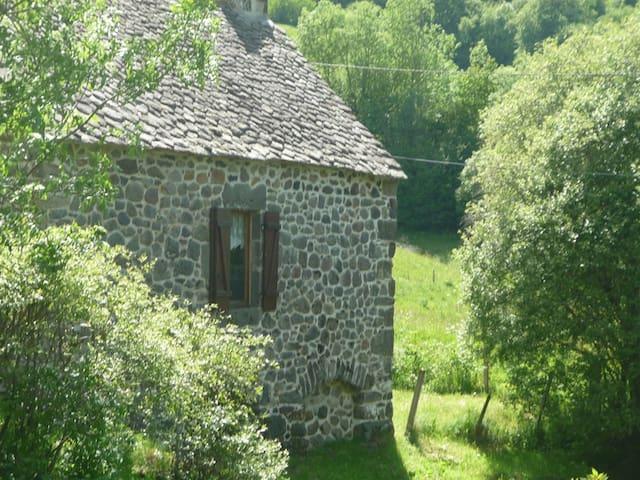 Ancien Moulin au bord de l'eau - Le Falgoux - House