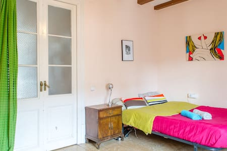 Penthouse Single Room+Balc@ ♥ BCN 2 - Barcelone - Appartement