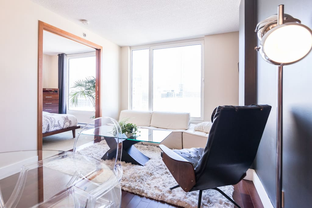 La dany luxury old port apartment appartements louer - Appartement a louer vieux port montreal ...