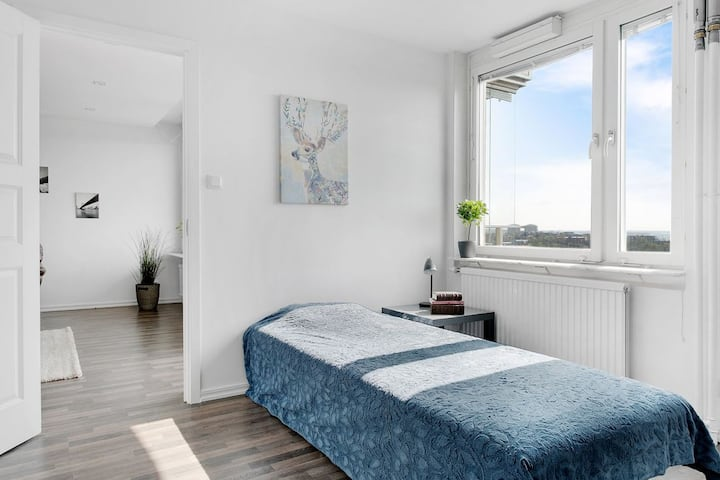 Room in a large apartment for rent during July