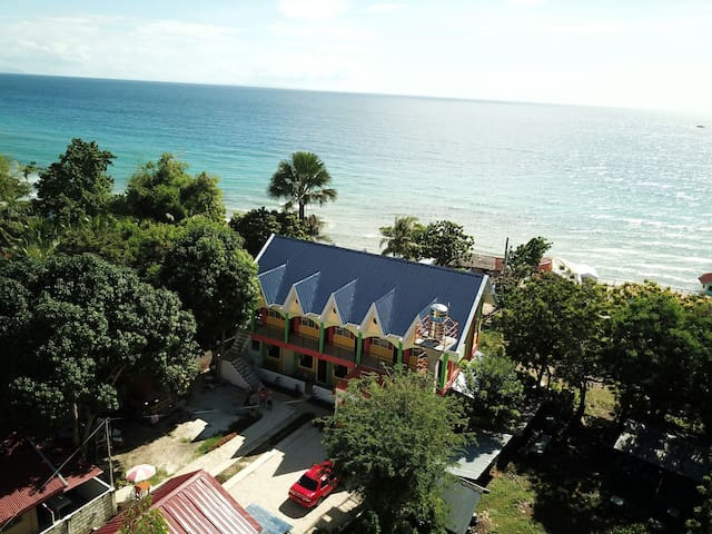 Island View Deluxe Room with Sea View-3pax