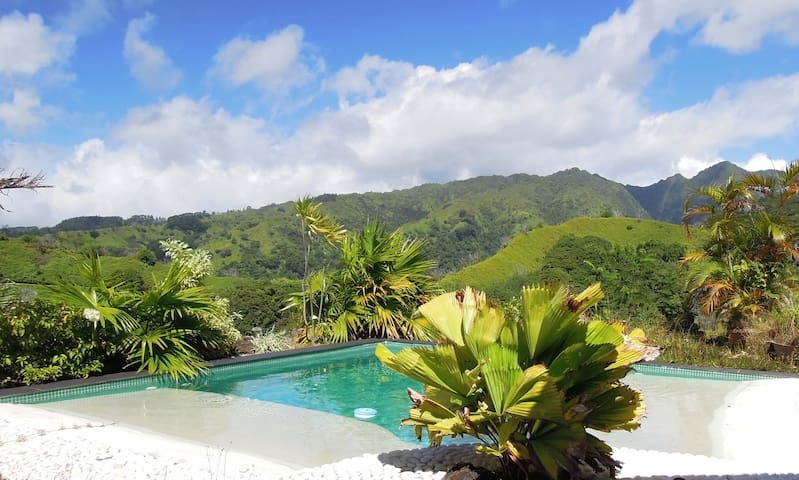 Your Peace Haven on top of the world ! - Māhina - Villa