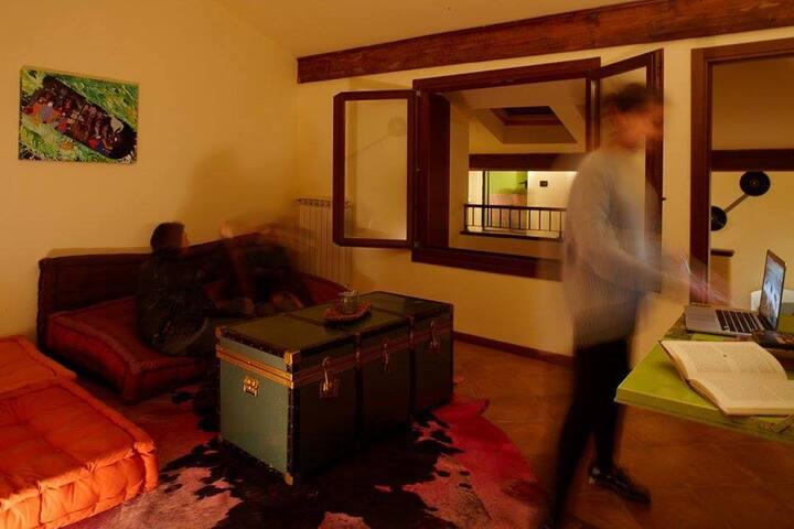 3 Mixed Dormitory room-Mantua Hostal 1