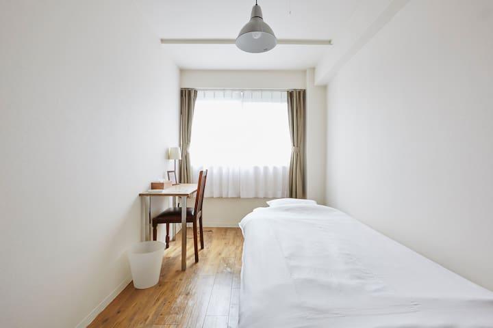 #1 Sunny single room in Togoshi Ginza☆Free wifi - Shinagawa - Guesthouse