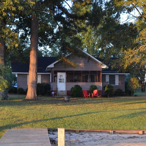 TAW CAW LAKEHOUSE - LAKE MARION SC - Summerton - Hus