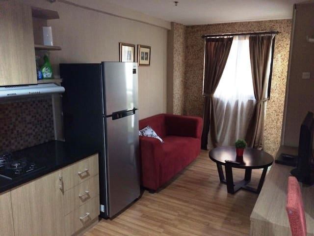 Best location of 2 beds apartment in South Jakarta - Pasar Minggu - Apartmen