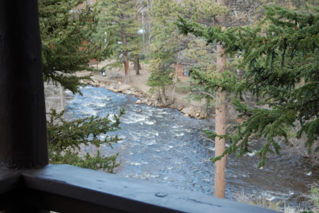Big Thompson River from the front porch