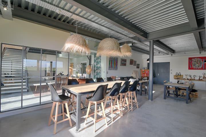 Découvrez un espace atypique aux Portes de Lyon