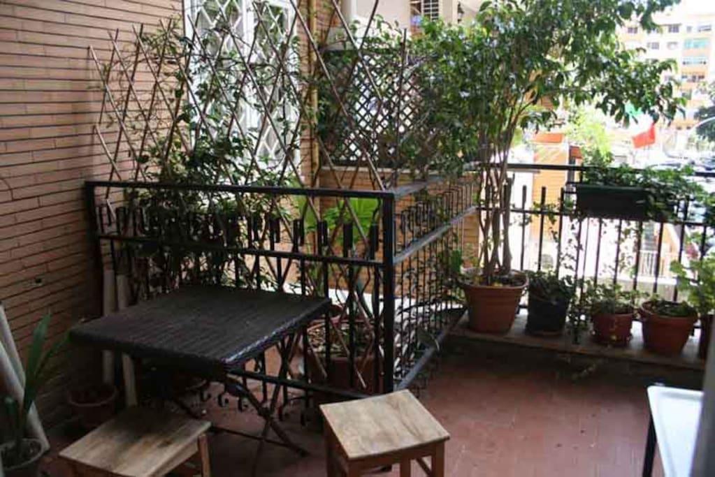My terrace :)