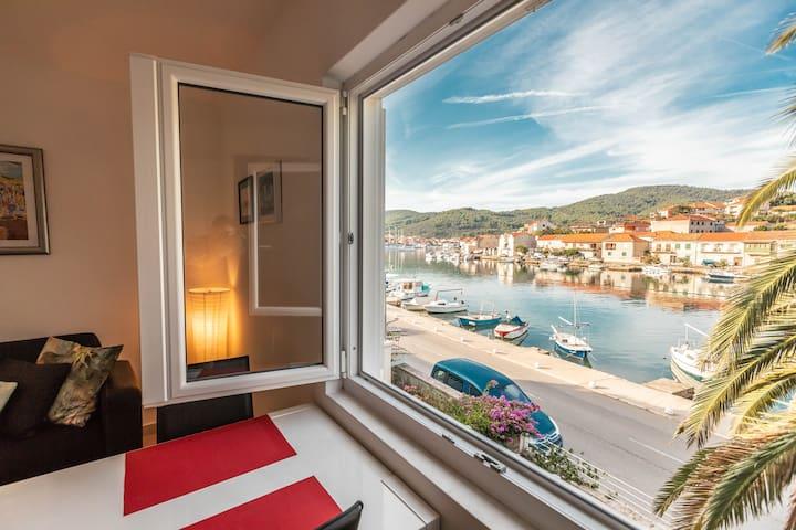 Apartman s pogledom na more - Prošpe, Vela Luka