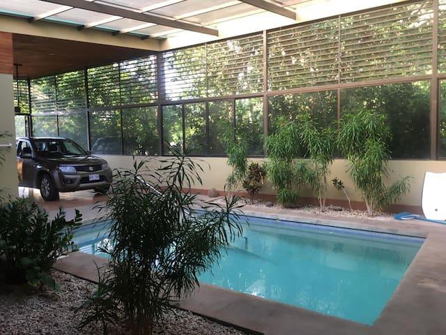 Nice pool house between Nicoya and Sámara beach