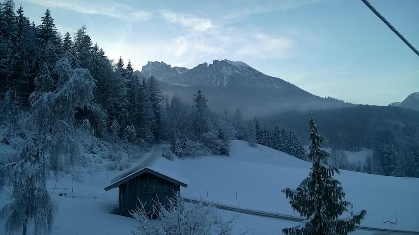Am Fuße des Watzmanns Apartment 2 auf'n Bauernhof - Ramsau bei Berchtesgaden - Byt