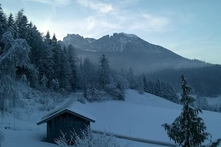 Am Fuße des Watzmanns Apartment 2 auf'n Bauernhof - Ramsau bei Berchtesgaden - Huoneisto