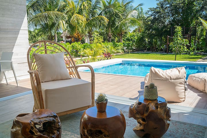 Luxury Jungle 2BD Villa ➸ Private Pool & Garden