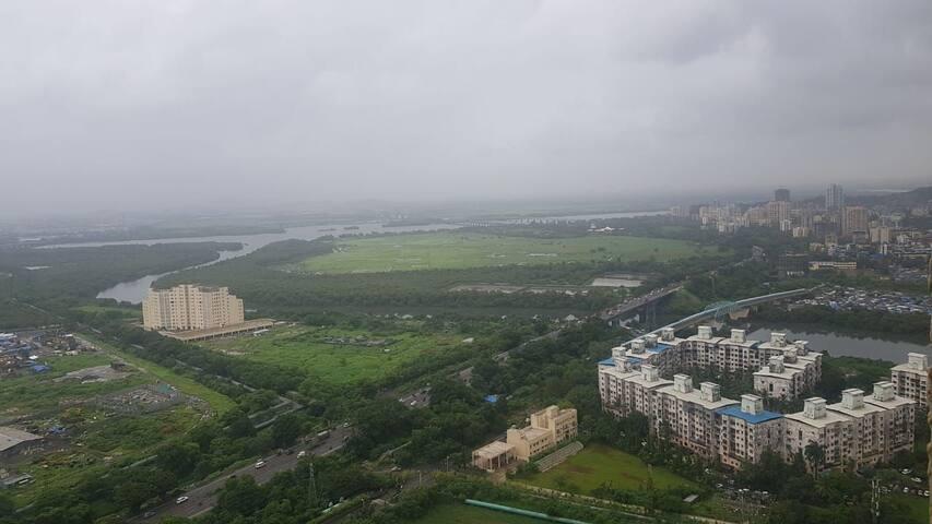 Bird Eye View of the City