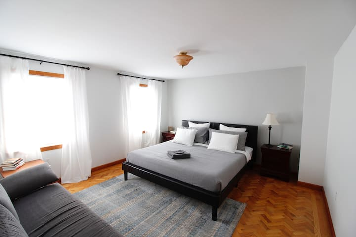 Comfortable Bedroom in Savin Hill Apartment