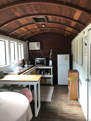 Chittering Valley Retreat Train Carriage