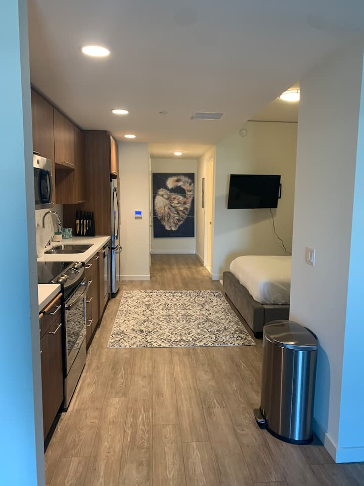 **Downtown LB Luxury** Studio Getaway