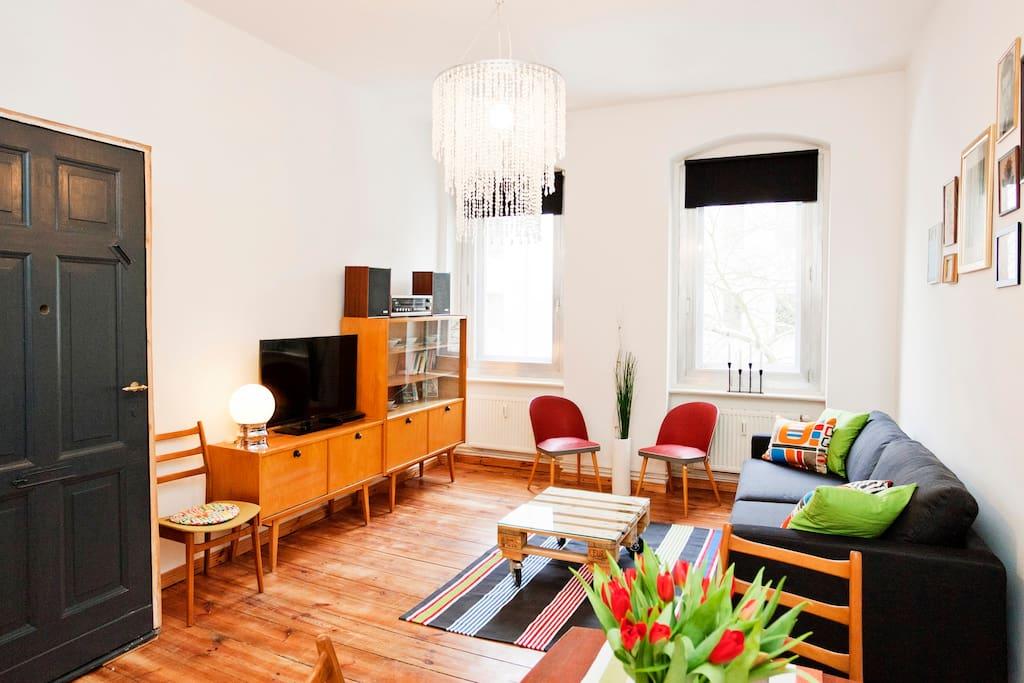 3 Rooms, 70m² in trendy Neukölln