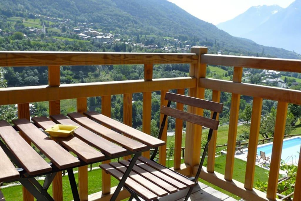 balconcino privato