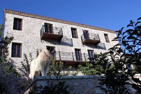 LUXURY STONE VILLA-DOUBLE ROOM - Peloponnese - Bed & Breakfast