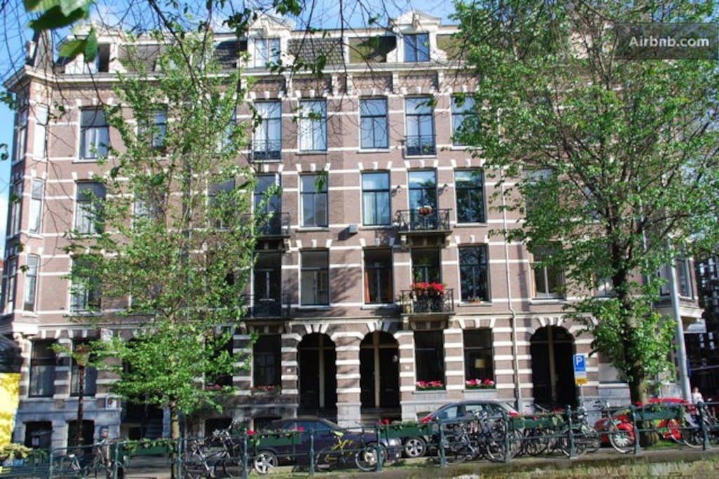 Chambre dans le coeur d 39 amsterdam chambres d 39 h tes for Chambre d hotes amsterdam