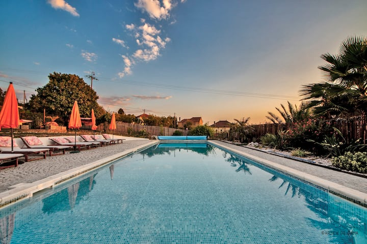 Quinta d' Alegria with large swimming pool