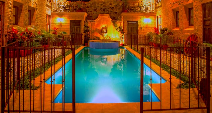 Central Hidden Secret w/pool (3 of 4) + Free Night