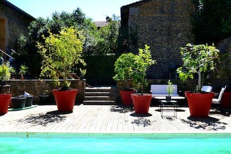 La Maison des Efflorescences - Le Bois-d'Oingt - 一軒家