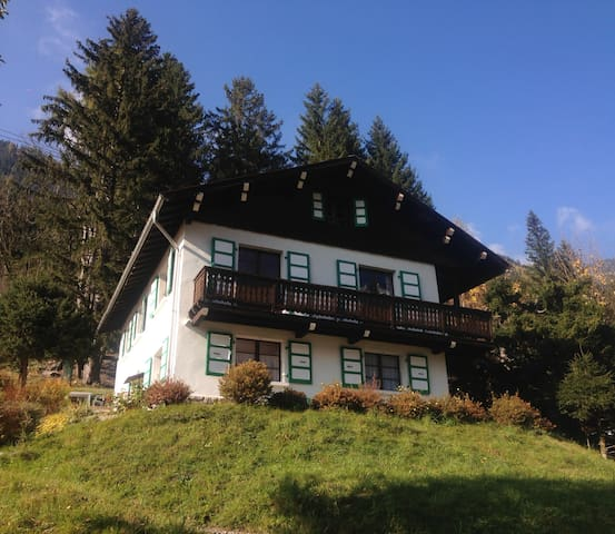 Chalet 16 personnes à Chamonix - vue panoramique
