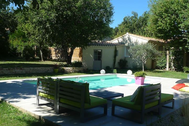 Charmant Gîte pour 2 pers avec piscine partagée - Saint-Paul-Trois-Châteaux - Casa