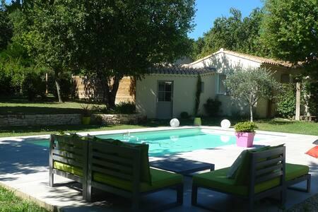 Charmant Gîte pour 2 pers avec piscine partagée - Saint-Paul-Trois-Châteaux - Huis
