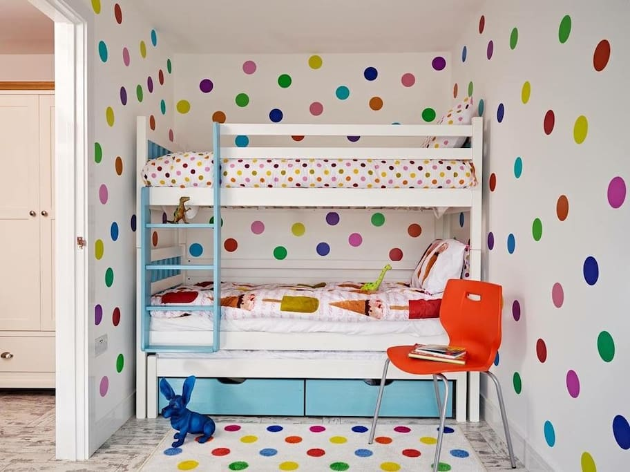 The dotty bedroom