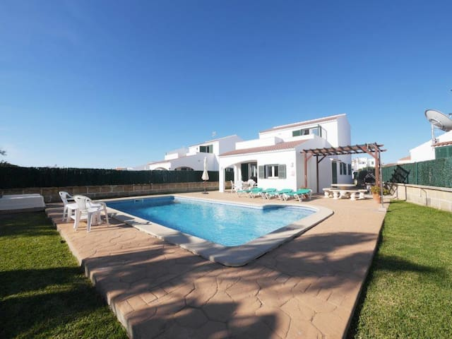 Luxury villa with sea/sunset view and private pool