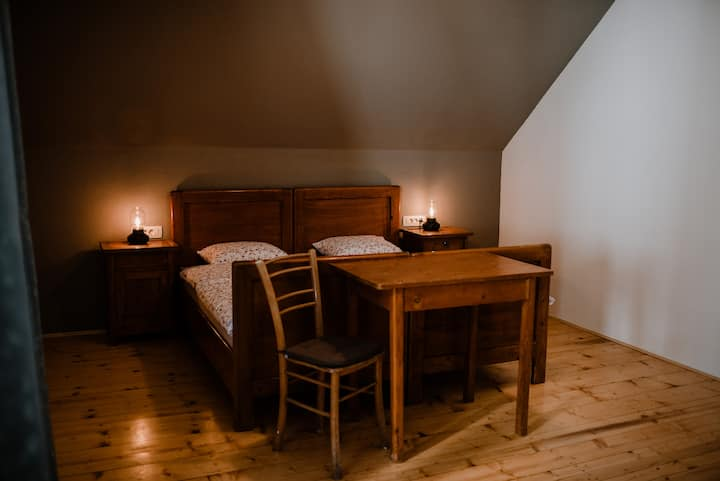 Vila Koman - Double bed room with own bathroom