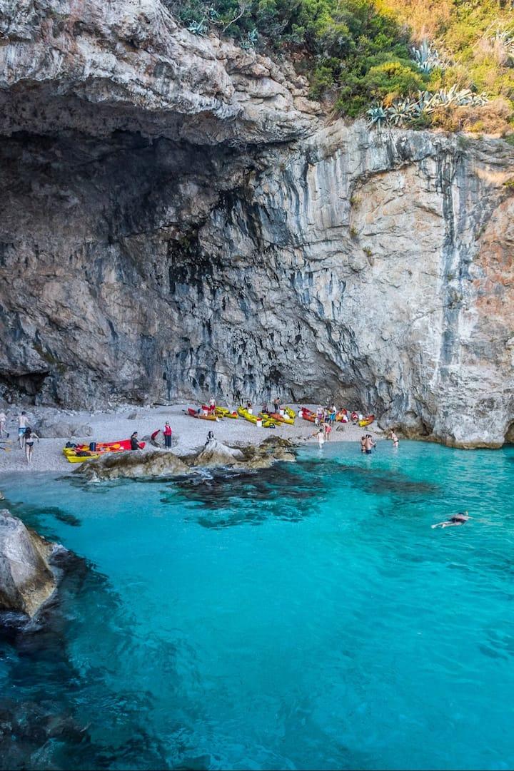 Snorkel while sea kayaking in Dubrovnik