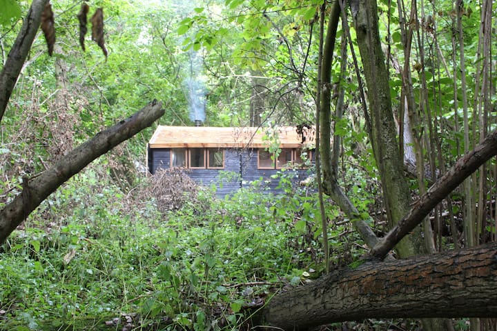 'Secret' Cabin in the (Website hidden by Airbnb) escape for two!