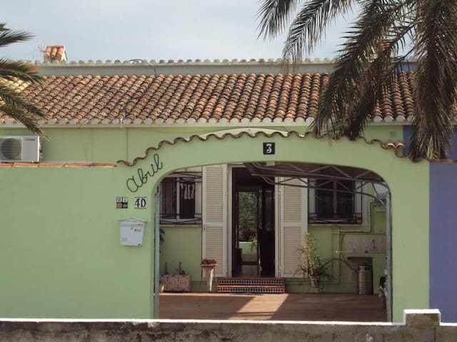 Cozy terraced house 5 min. walking to the beach - Dénia - Bungalow