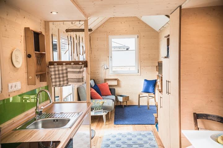 Tiny Haus im Südhessischen Ried