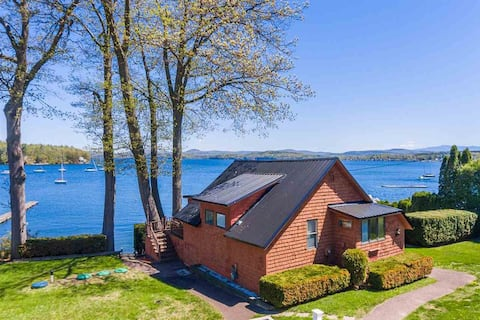 Lake House on Malletts Bay in Colchester, Vermont