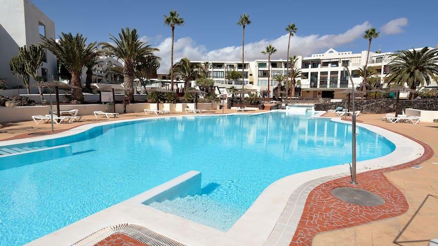 Loft Rock Complex Costa Teguise Share Pool wifi 10