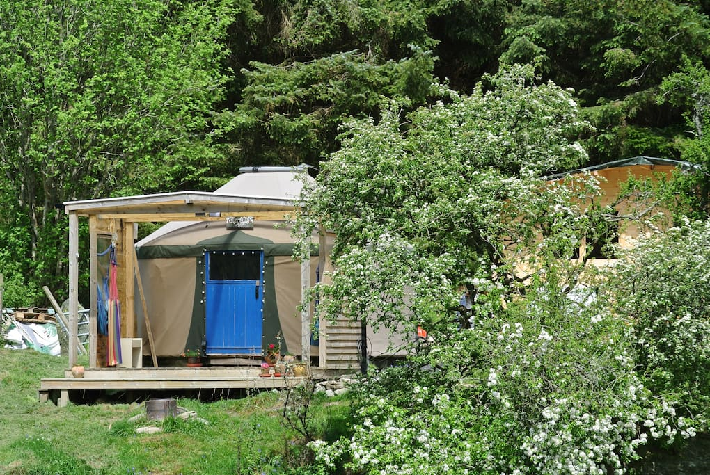 Nestled in Cynwyd forest, high in the beautiful Berwyn mountains in North Wales...