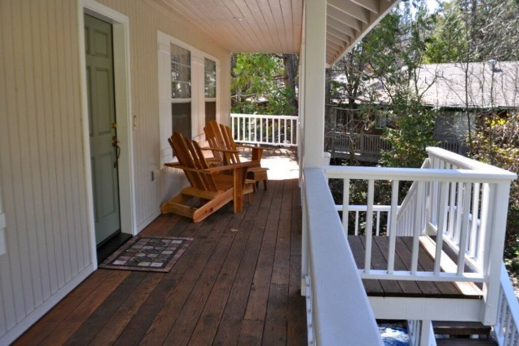 Deck - Front of Home