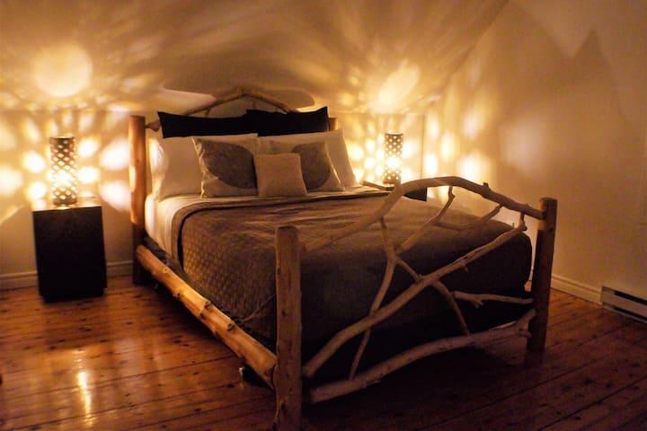 Le lit de la rivière (complètement privé)