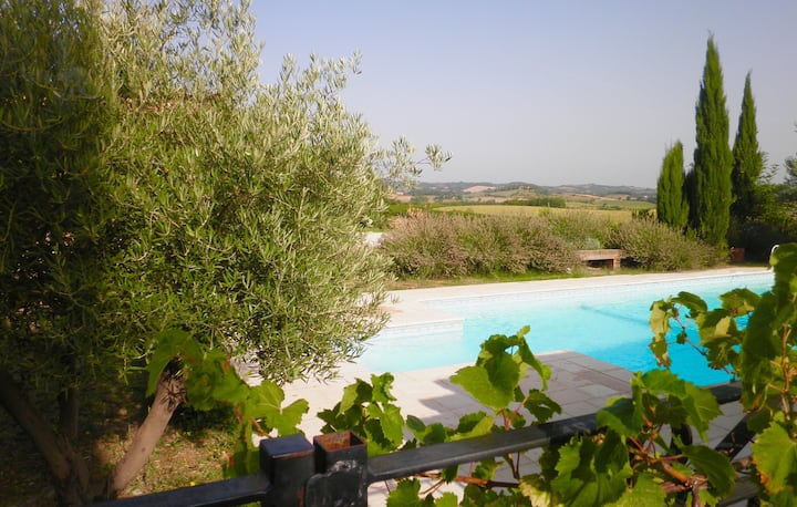 House Carcassonne area with Pool