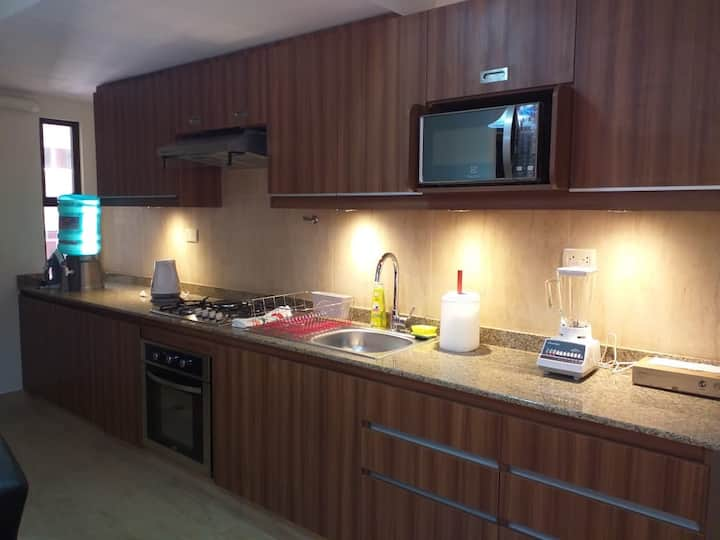 Fully equipped apartment, in La Paz best location