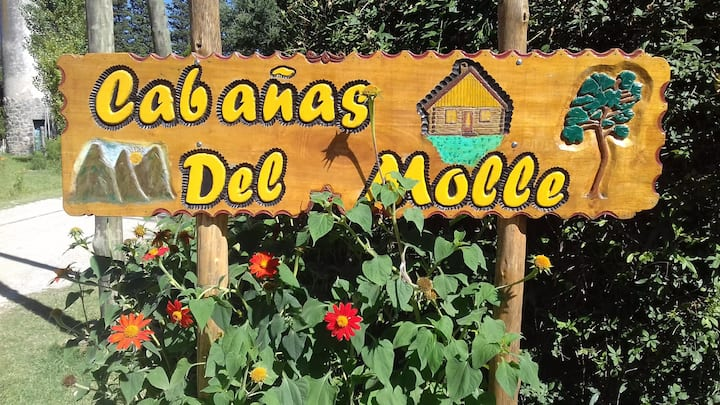 Cabañas de Molle - Alquiler de Cabañas p/ 2 pers